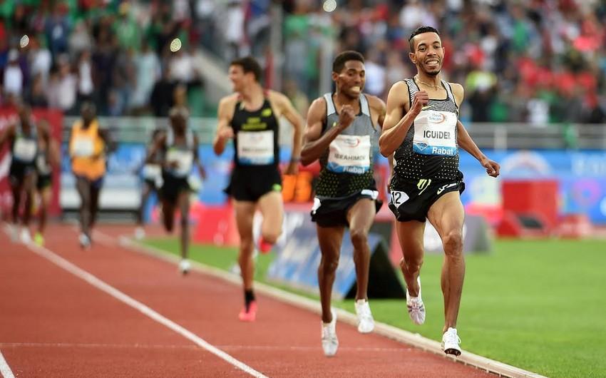 Azərbaycan atleti Brilliant Liqada gümüş medal qazanıb
