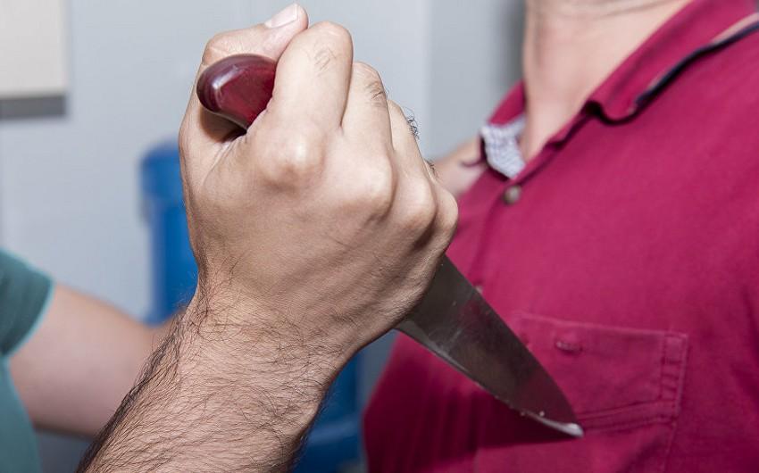 Lənkəran şəhərində yaşlı kişi bıçaqlanıb