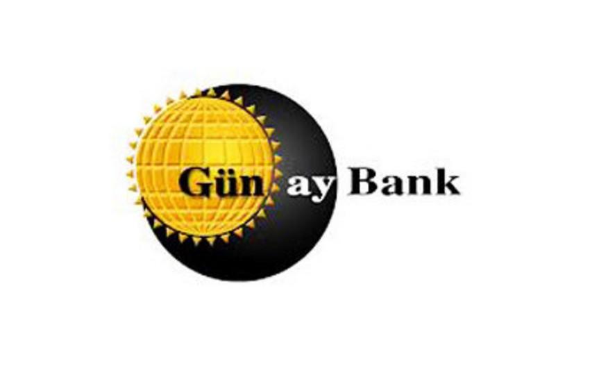 """""""Günay Bank"""" nizamnamə kapitalını kəskin artırır"""