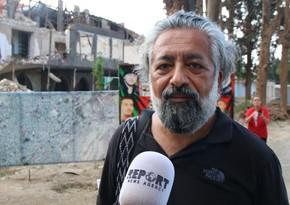 Türkiyəli jurnalist: Televiziyalarda izlədiklərimdən çox ağır mənzərə ilə rastlaşdım