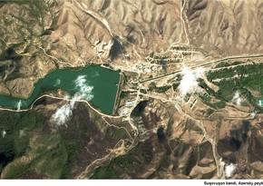 Azərkosmos: Suqovuşan Ermənistanın ekoloji terror fəaliyyətinə məruz qalıb