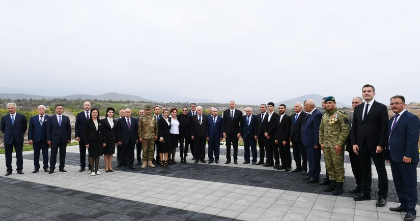 President Ilham Aliyev meets with members of general public of Fuzuli - FULL TEXT