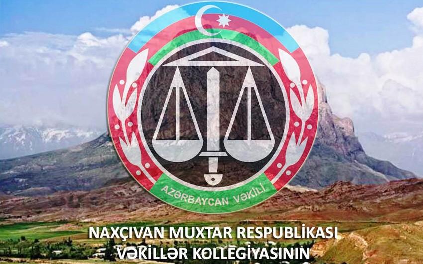Naxçıvan Vəkillər Kollegiyasının 21 üzvü var