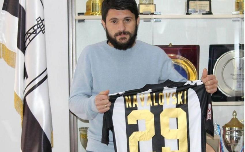 "FC ""Neftchi"" signs Georgian national player"