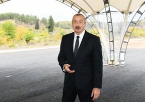 Глава государства: В Зангилане будет создан современный транспортно-логистический центр
