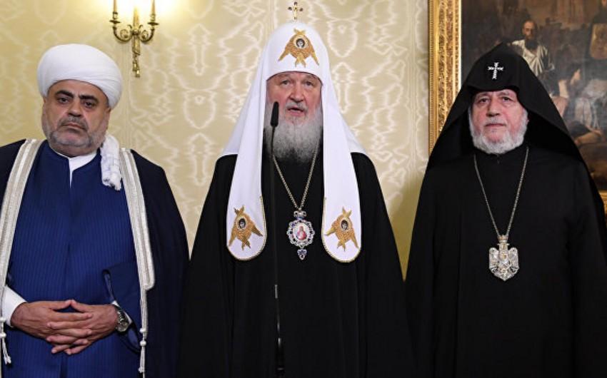 В Москве завершилась встреча духовных лидеров Азербайджана, Армении и России