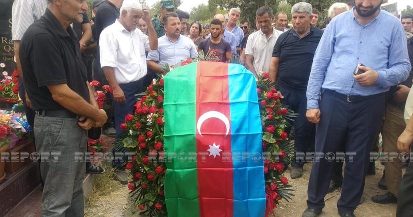 В Бейлагане простились с шехидом Азербайджанской армии - ОБНОВЛЕНО