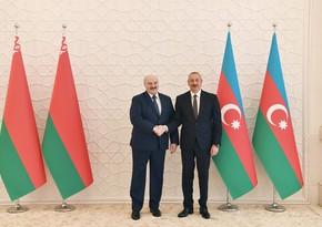 İlham Əliyev: Belarus bizim dostumuz, sınaqdan çıxmış tərəfdaşımızdır
