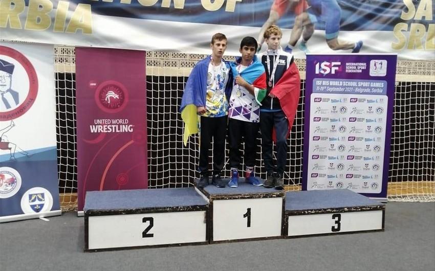 Azerbaijani schoolchildren win 20 medals in Serbia