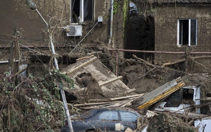 Tbilisidə leysan yağışları nəticəsində itkin düşmüş hesab olunan 14 nəfər tapılıb