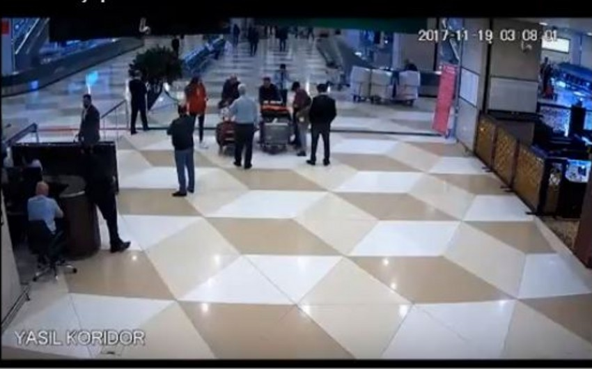 DGK ötən gün Heydər Əliyev Beynəlxalq Aeroportunda baş vermiş hadisə ilə bağlı məlumat yayıb - VİDEO