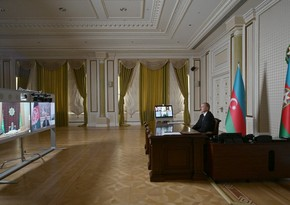 Azerbaijani, Afghan, Turkmen presidents meet via videoconference