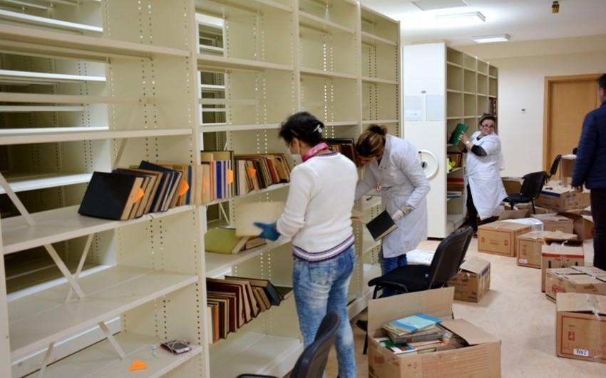 Mərkəzi Elmi Kitabxanaya köçürülən 143 min kitab inventarlaşdırılıb
