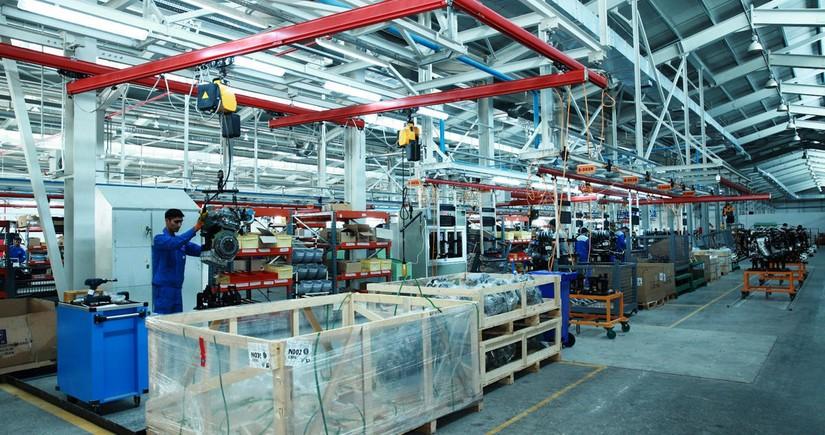 Промышленное производство в Азербайджане сократилось почти на 4%