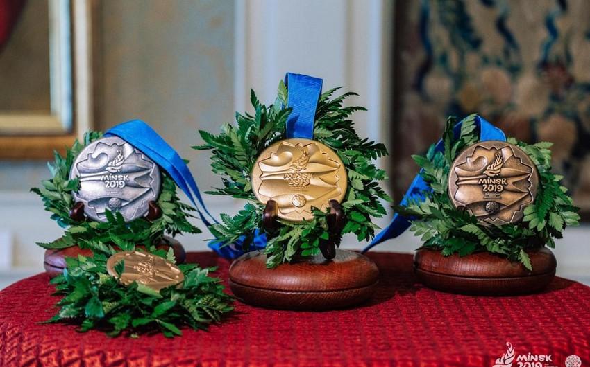 """Minsk 2019"": Daha 14 dəst medal sahibini tapacaq"