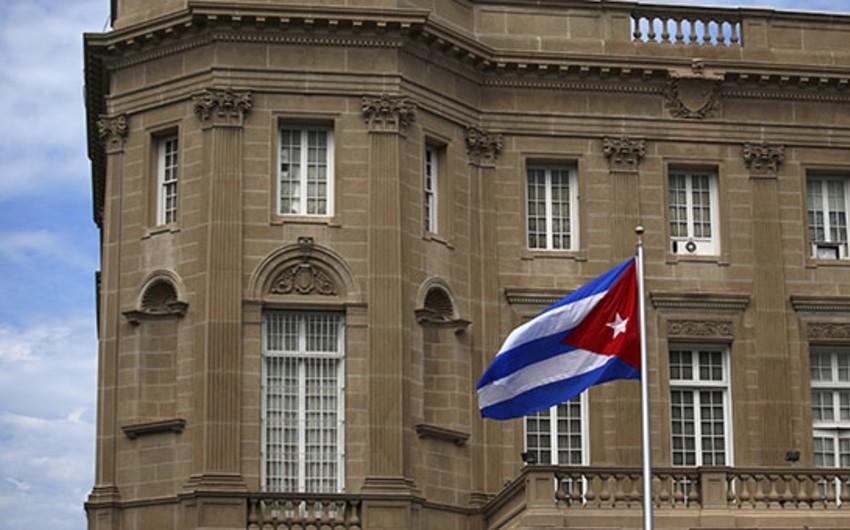 ABŞ Kuba səfirliyinin 15 diplomatına ölkəni tərk etmələri üçün bir həftə vaxt verib