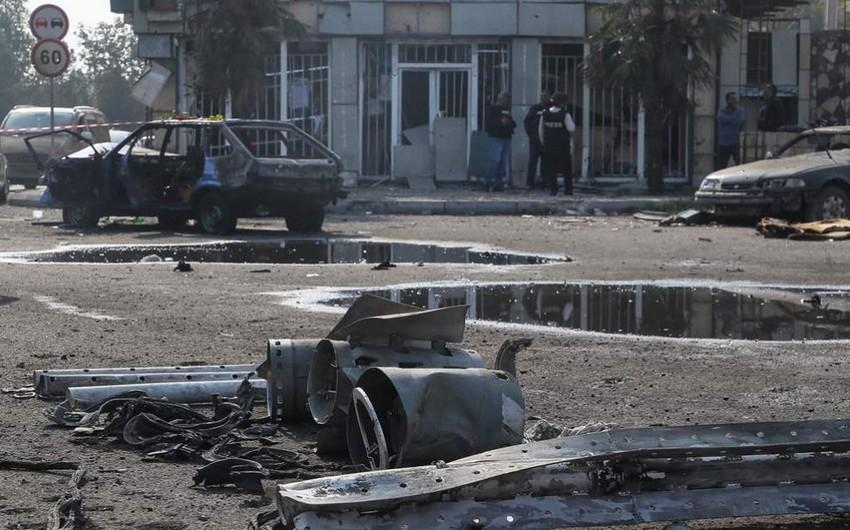 """""""Amnesty İnternational"""" təsdiqlədi: Ermənistan Bərdəyə kasetli raketlə zərbə endirib"""