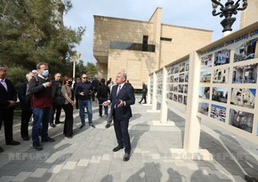 Representatives of diplomatic missions get acquainted with destruction in Tartar inflicted during war