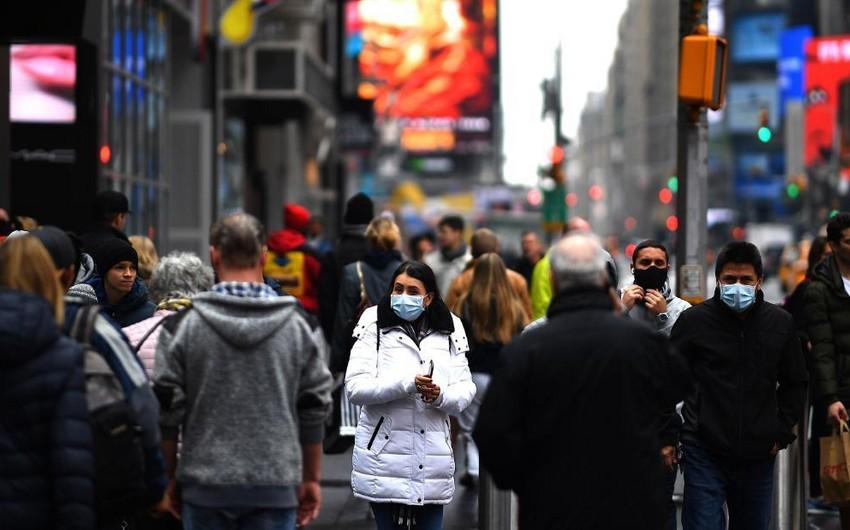 Nyu-Yorkda bir gündə koronavirusdan 500-dən çox insan öldü
