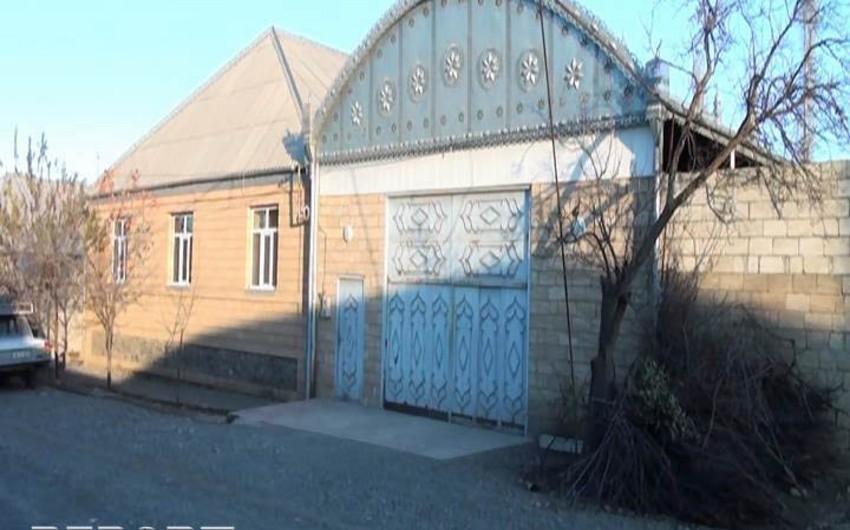 Goranboyda yas mərasiminə gedən ailənin yaşadığı ev qarət olunub - FOTO