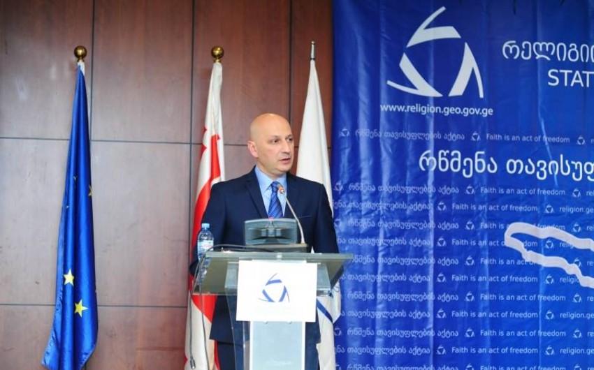 Zaza Vaşakmadze: Bu il Gürcüstandakı müsəlman icmasına  2,2 milyon lari ayrılacaq