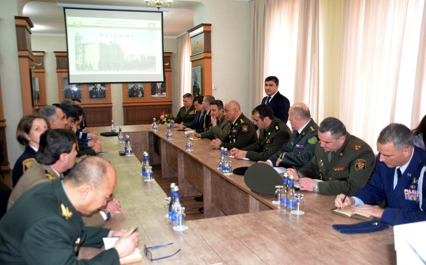 Military attachés of foreign countries visited Military Academy