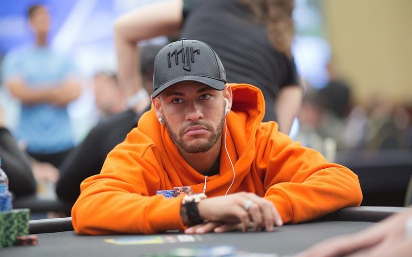 Neymar Braziliyadakı poker turnirində finala yüksəlib