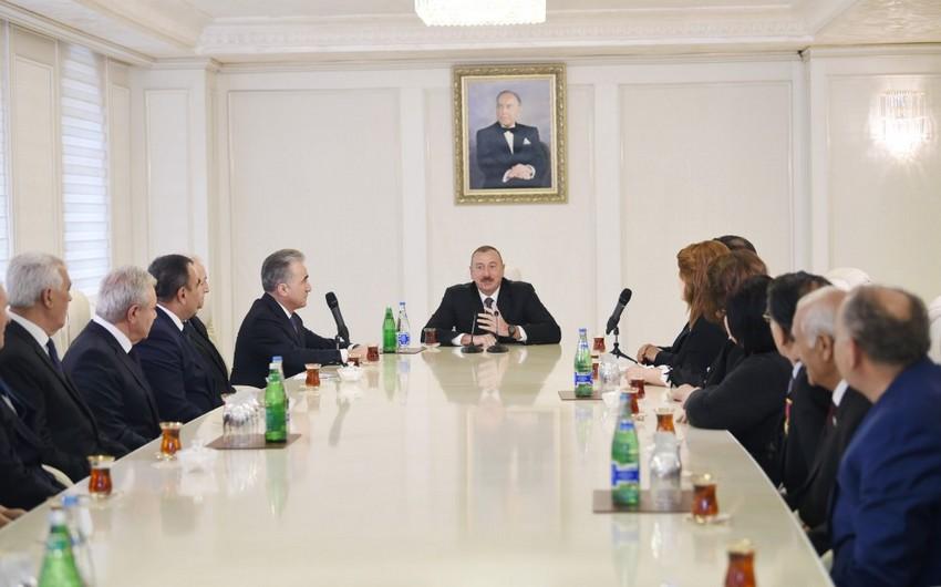 Azərbaycan Prezidenti: Gələn il daha da uğurlu olacaq