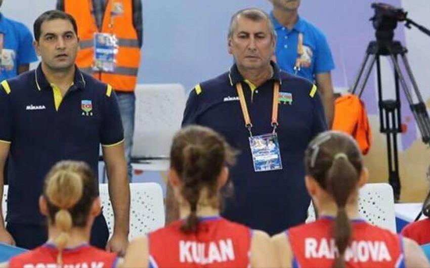 Voleybol üzrə qadınlardan ibarət Azərbaycan milli komandasının məşqçilər heyəti formalaşıb