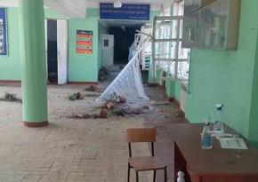 В Гяндже в результате армянского обстрела разрушена еще одна школа