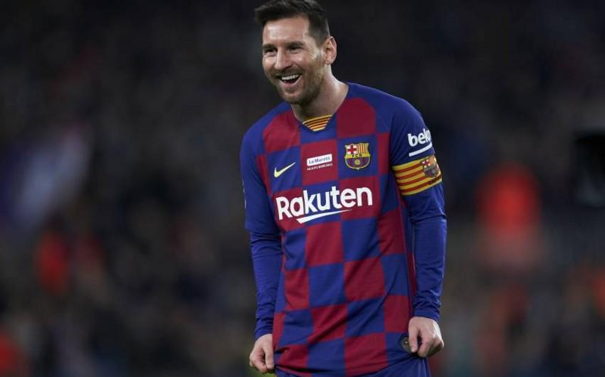 Messi 9-cu dəfə il ərzində 50 qol göstəricisinə nail olub - FOTO
