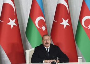 Azərbaycan Prezidenti Türkiyə şirkətlərinə təşəkkür edib