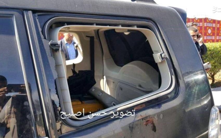 Qəzzada Fələstinin baş nazirinin korteji yaxınlığında partlayış olub, yaralılar var - FOTO