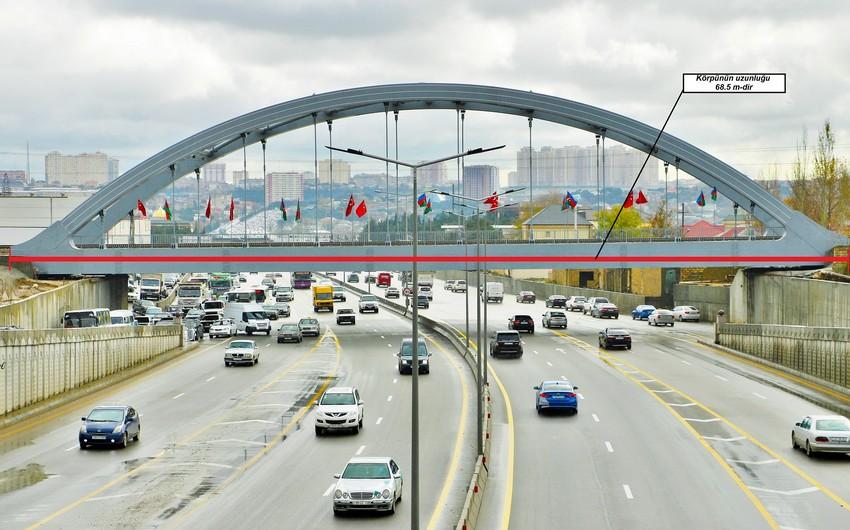 Завершено строительство железнодорожного моста вблизи Хырдаланского круга