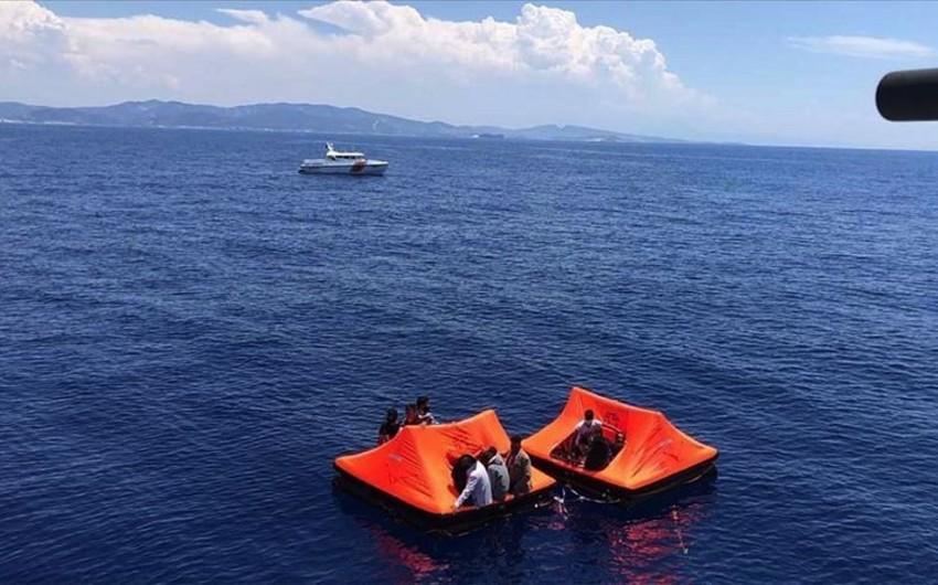 Türkiyə 36 miqrantı boğulmaqdan xilas etdi