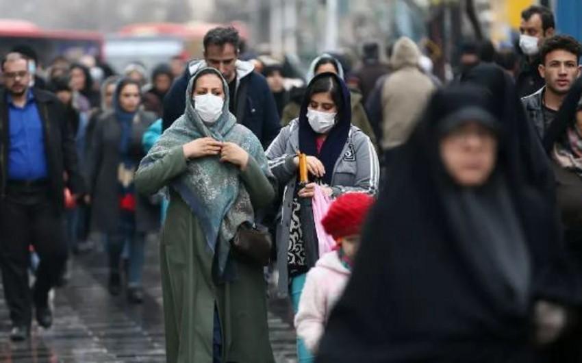İranda koronavirusa yoluxanların sayı 60 mini keçdi
