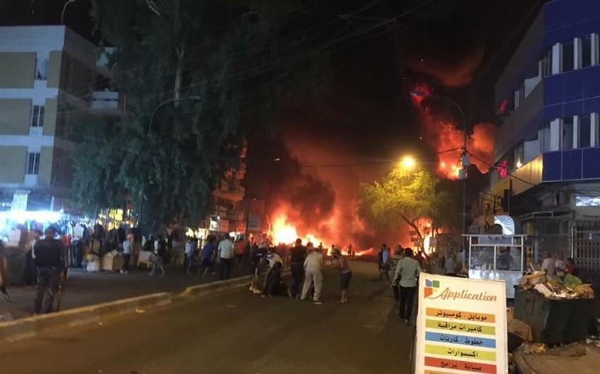 Bağdadda partlayış nəticəsində 10 nəfər ölüb, 21-i yaralanıb