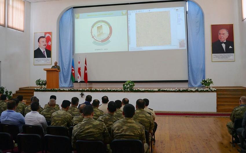Azərbaycan, Türkiyə və Gürcüstan hərbçilərinin birgə təlimi başa çatıb