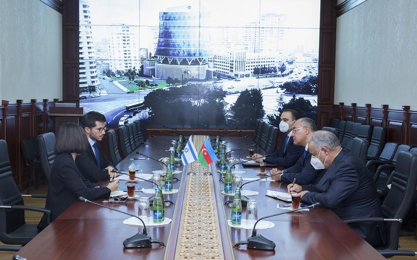 Azərbaycan və İsrail arasında gömrük sahəsində əməkdaşlıq müzakirə edilib