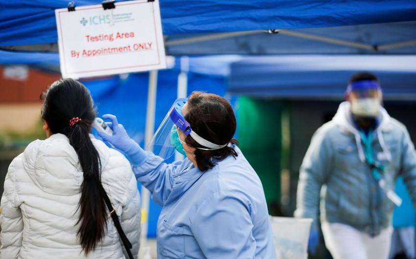 ABŞ-da son sutkada 47 mindən çox yoluxma faktı qeydə alınıb