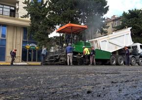 Nərimanov rayonunun yol problemi həll edilir