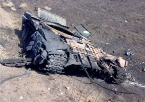 Enemy's military equipment, ammunition destroyed