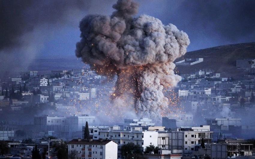 ABŞ İranın Suriyadakı hərbi obyektlərinə aviazərbələr endirdi