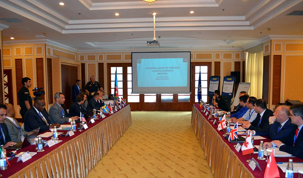 Baku hosts NATO Standing Group of Partner Logistics Experts meeting for the first time