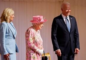 Елизавета II приняла Байдена с супругой