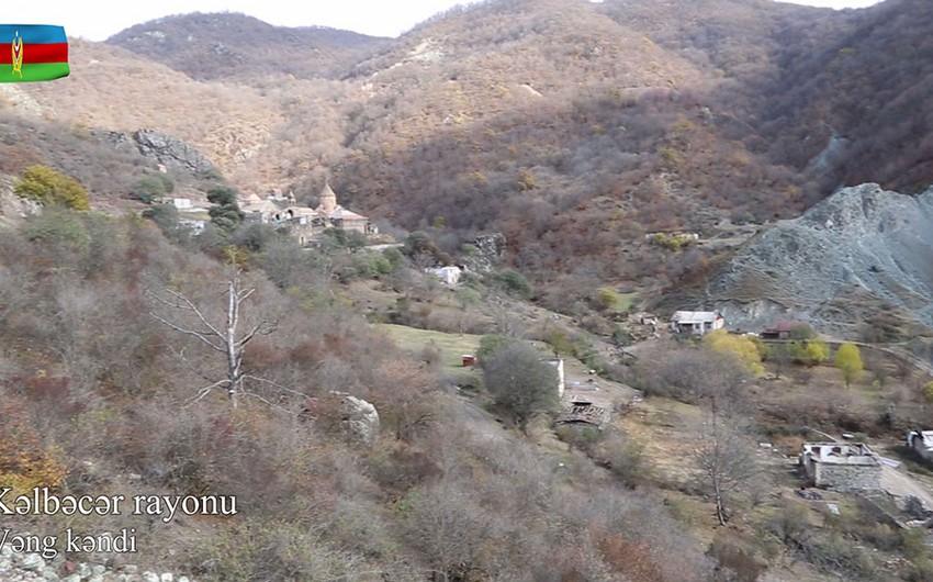 Видеокадры из села Венг Кельбаджарского района
