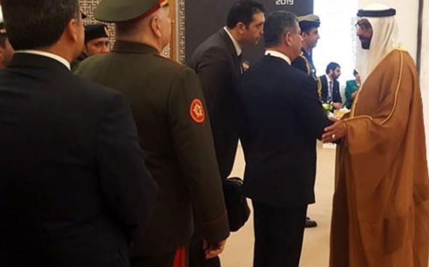Zakir Həsənov BƏƏ-nin müdafiə məsələləri naziri ilə görüşüb