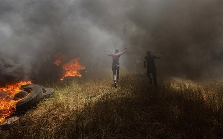 Qəzzada İsrail ordusu ilə toqquşmalarda 4 fələstinli ölüb
