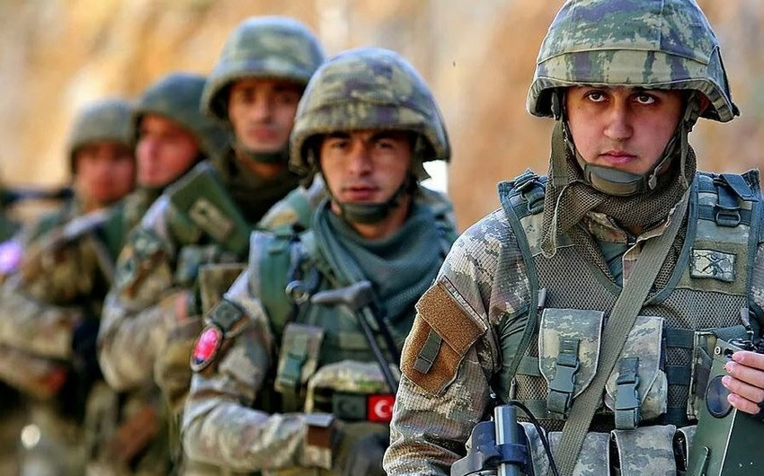Türk hərbçiləri İraqda 7 terrorçunu zərərsizləşdirib