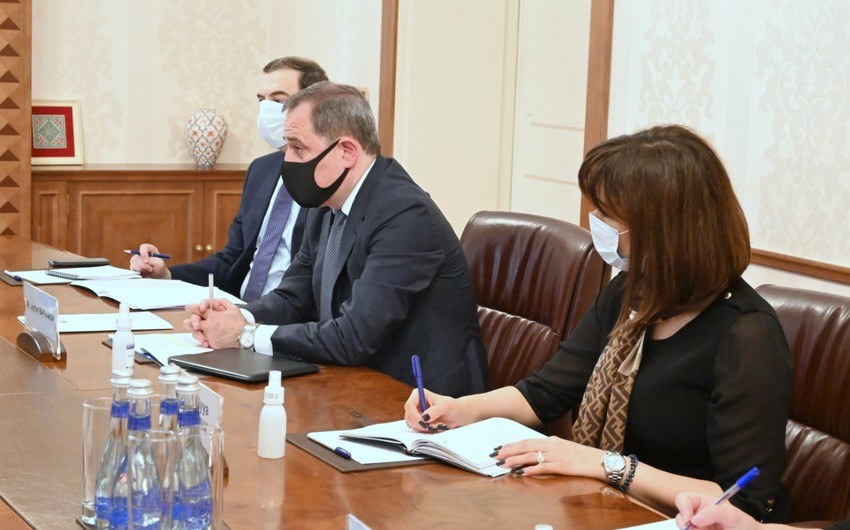 Jeyhun Bayramov moots situation on front with EU Special Representative